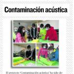 """""""Contaminación Acústica"""" IES San Alberto"""